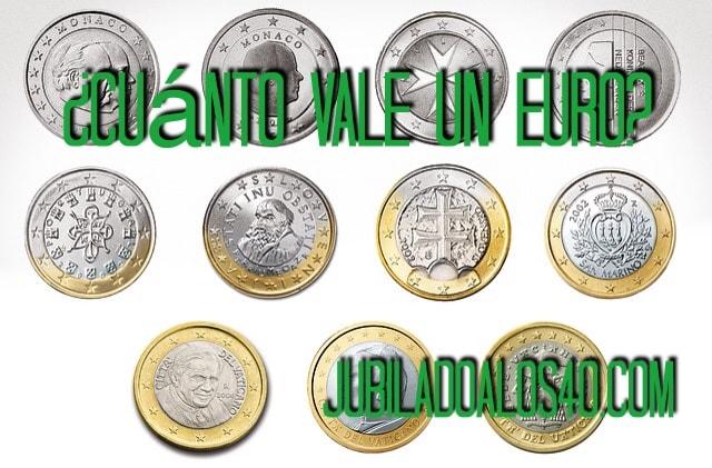 ¿Cuánto Vale Un Euro?